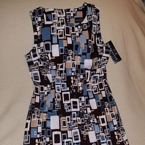 Multicolored dress sz6